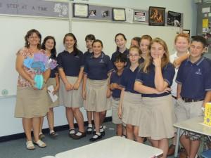 We love Mrs. Etz!