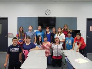 Mrs. Donofrio-language arts teacher grade 7, 2014.