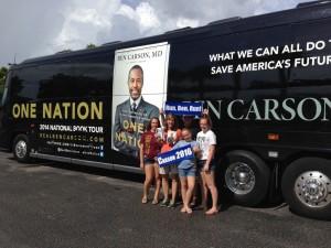 Ben Carson's summer book tour