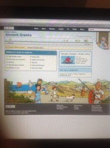 Explore Ancient Greece via the BBC