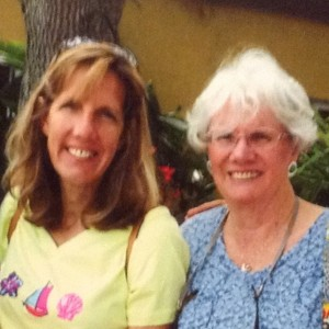 My mom and I; Mother's Day 2014
